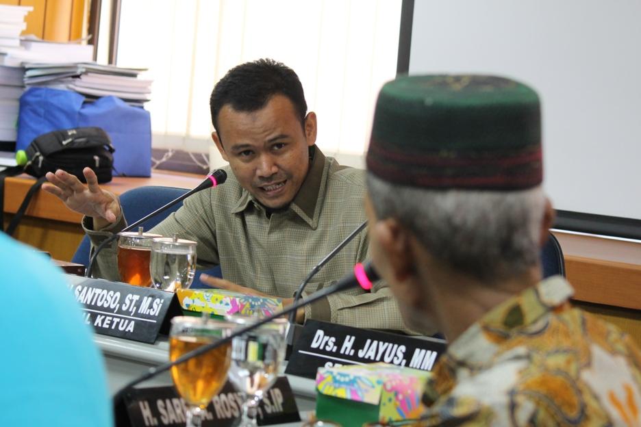 Komisi D menerima audiensi TPA Sampah Pedan Klaten